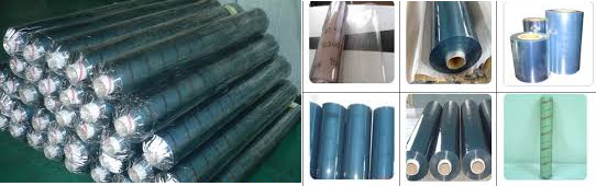 hình ảnh cuộn màng nhựa pvc dẻo
